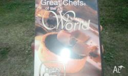 Great Chefs of the world series DVDs 174 instructional