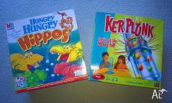 Milton Bradley - Hungry Hungry Hipps Game - 2007 Mattel