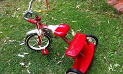 Great Radio Flyer Dual Deck Tricycle! This is the