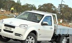 GREAT WALL MOTORS, V240, K2, 2010, 4x2, Silver, C/CHAS,
