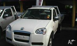 GREAT WALL MOTORS, V240, K2, 2010, 4x4, White, C/CHAS,