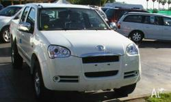 GREAT WALL MOTORS, V240, K2, 2009, 4x4, White, DUAL CAB