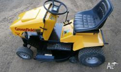 "Greenfield Evolution 3 Ride on Mower 11.5HP 30"" inch"