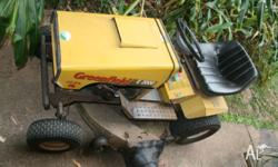 Well used E2000 GREENFIELD 34 Inch ride on lawnmower ,