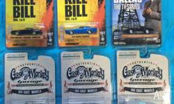 Greenlight Hollywood Series 10 Set of 6 1/64 scale
