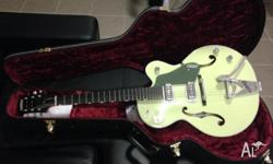 Barely used GRETSCH G6118T purchased Nov 2013. Has been