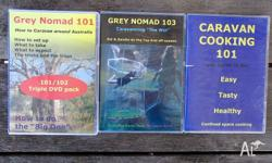 Selling the following DVD's: Grey Nomad 101/102 ComHow