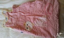 For Sale - Pink 2.5 TOG Grobag sleeping bag for 0-6