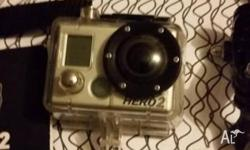 GoPro outdoor camera. Mounts and brackets. In very good