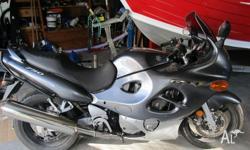 GSX-F 750 Suzuki, excellent condition, low km's, must
