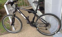 26in GT Avalanche, shimano gears and disc brakes,