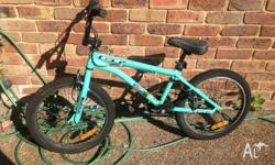 GT Coupe BMX bike bicycle. Always been a good bike just