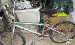 Genuine GT Pro series bmx race bike, straight frame,(