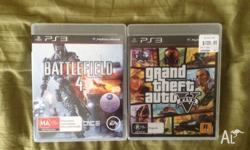 Selling Grand Theft Auto V and Battlefield 4 for