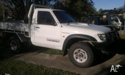 For sale is my 2006 Patrol ute was bought for starting