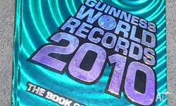 Guinness World Book of Records 2010 excellent condition