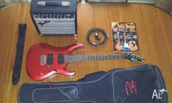 Awesome guitar and amp pack in perfect condition,