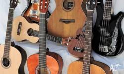 GUITAR / UKE SALE ..*Beginners *Travellers *Re-Strings