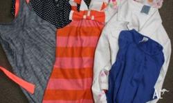 6 items of Gilrs clothing size 2-3 years. Pumpkin Patch