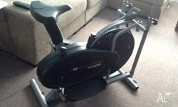 Bike and elliptical cross trainer brought for a