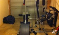 I am selling gym set due to moving to other place. I