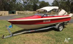 Haines Hunter 1600SO 1985 hull with a very tidy