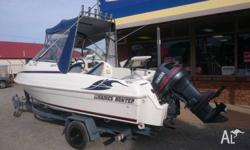 We have for sale this very popular Haines Hunter 520 SF