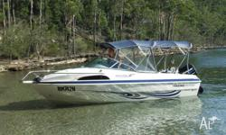 This 2005 Haines Hunter 530 Classic is in immaculate