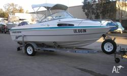 Haines Hunter 530 Classic cabin package 2000 model in