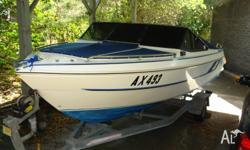 Rare and hard to find Haines Hunter 530 SLA Bowrider,