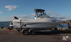 This has been a fantastic fishing and family boat. If