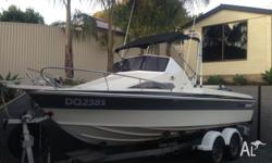 Haines Hunter 560 SL in excellant condition. Yamaha 115