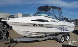 Haines Hunter 580 Breeze 2007 Model Mackay Braked