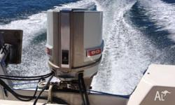 Haines Hunter fibreglass with 90 hp Chrysler Outboard