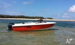 Haines Hunter V16R - Evinrude 90HP. Registered and in
