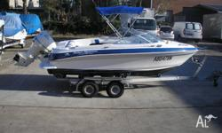 Haines Signature 520 Runabout solid unit with 115Hp