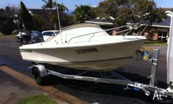 FOR SALE IS MY HAINES HUNTER V17R FEATURES INCLUDE: