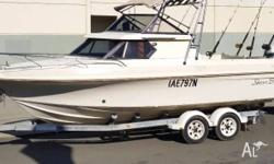 Haines Hunter limted edition cabin cruiser LOA (overall