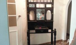 this antique hall stand is from around 1910 it is