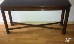 Hall Table in good condition Length 1370mm x Depth