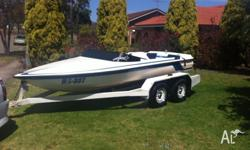 For sale is my immaculate Hallett Skimaster ski boat,