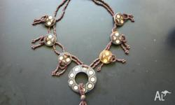 Brown Bead necklace P/U North Lakes $4.00 listed