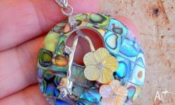 Intricately handcrafted using Abalone & Paua Shell