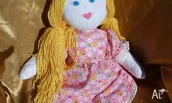 I make handmade cloth dolls and kewpie dolls, all my