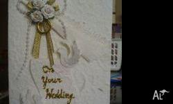 Handmade paper and handmade card