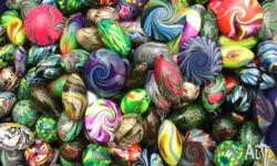 Great selection of handmade polymer clay beads. Also