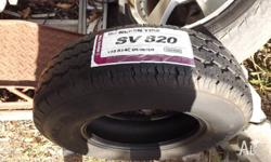 Here are 2 Hankook light truck tyres Size 195R14C in as