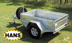 Hans - 7X4 Off-Road Box Trailer - Brisbane & Regional