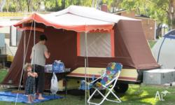 Hard floor CUB camper with quality Terka tent Very fast