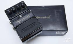 This is the sought after Supernatural reverb pedal,